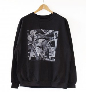 <img class='new_mark_img1' src='//img.shop-pro.jp/img/new/icons1.gif' style='border:none;display:inline;margin:0px;padding:0px;width:auto;' />M.C.Escher Crew Neck Sweat(マウリッツ・エッシャー スウェット)