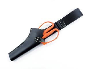 フィッシュホルダーケース ブラック(縫い糸ナチュラル)