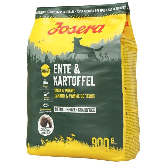 [成犬用グレインフリー] カモ&ポテト 0.9kg