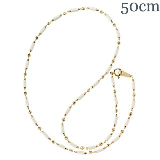 オリンポスホワイト K18YG 50cm