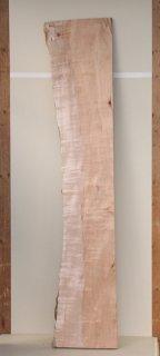 かえで板 片側まるみあり H2000 W310 D40 (自然乾燥材)