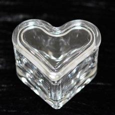 ガラスケース ハート型