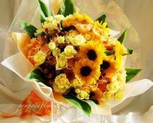 ありがとうの花束オーダーメイド