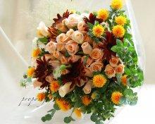 ビタミンカラー花束オーダーメイド