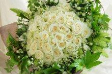 ホワイトデーの花束