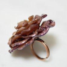 紫の薔薇の指輪・パープル
