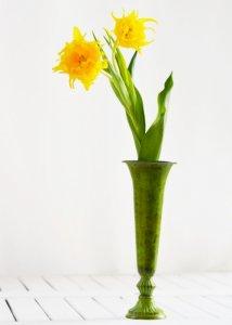 フラワーベース・バーティカルS(真鍮花器)
