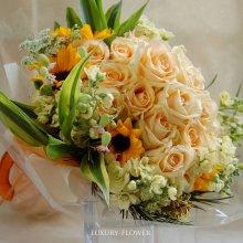 米寿祝の花束・88歳の誕生日祝花