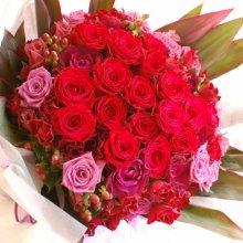 還暦祝の花束・60歳の誕生日祝花