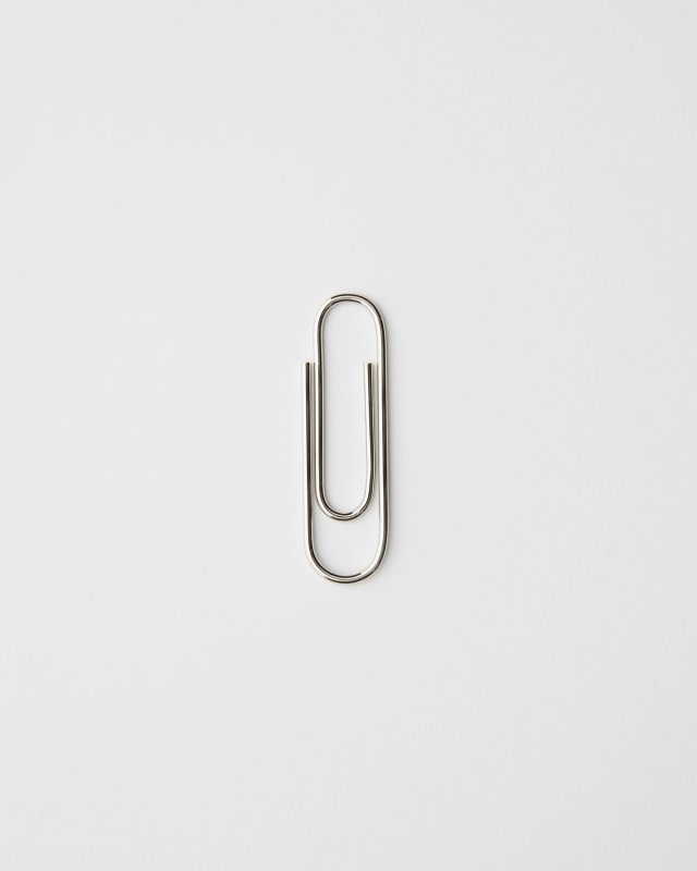 Carl Aubock  Paperclip - Nickel Plated Brass