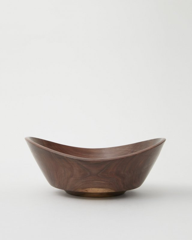 George Peterson  Wood Bowl - walnut A