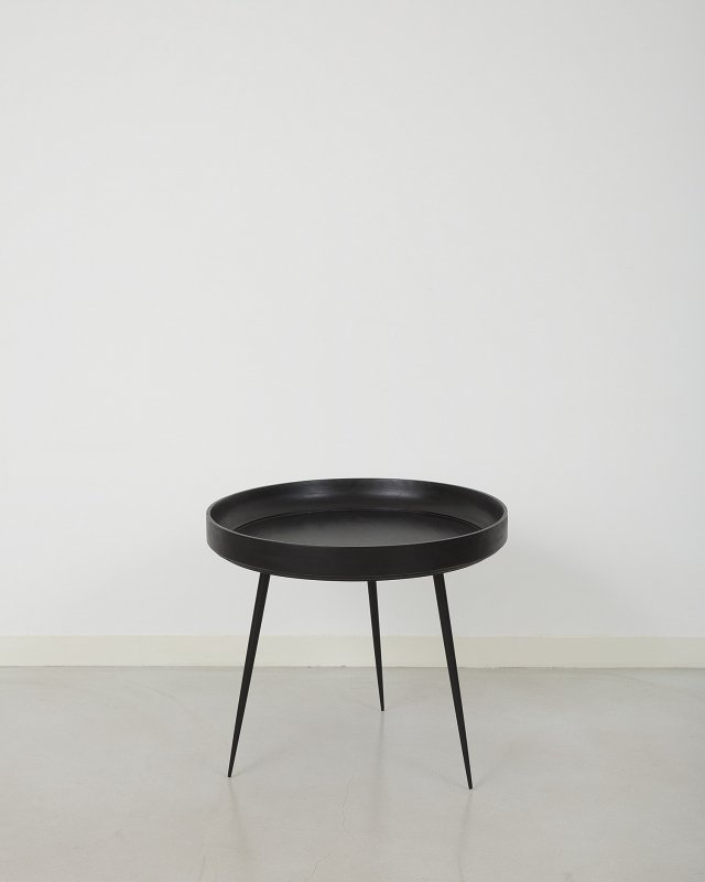 mater  Mango Bowl table - L Black