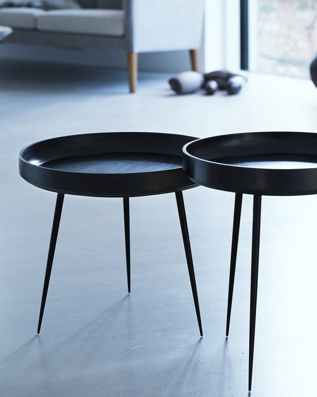mater  Mango Bowl table - M Black