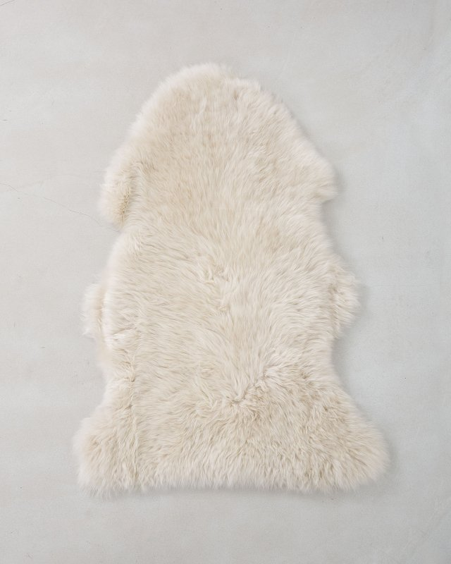 NATURES COLLECTION  Sheep Skin-Light beige