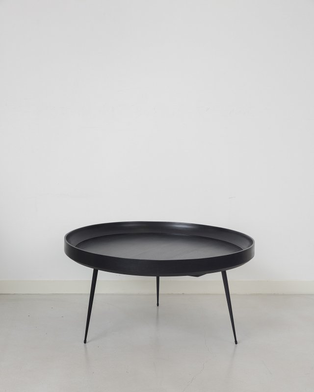 mater  Mango Bowl table - XL Black