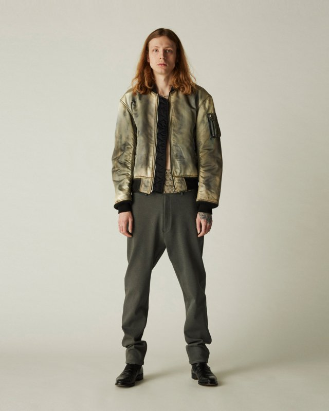 stretch heavy twill pants