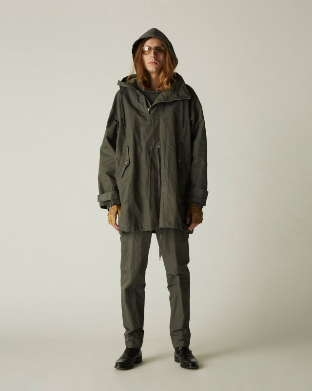 N/Ra washer hooded parka