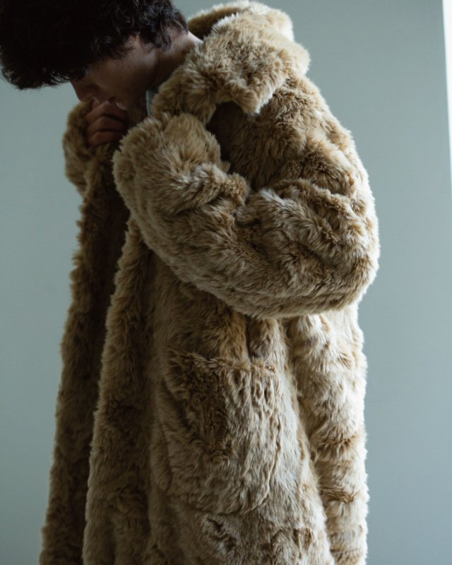 Eco-Fur Overcoat