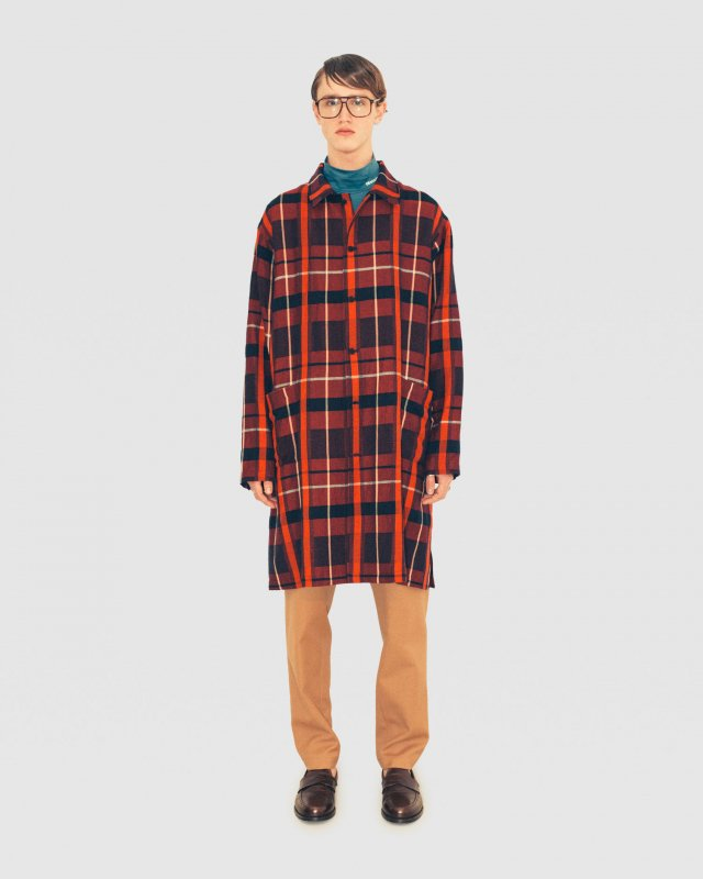 Buffalo Check Shop Coat