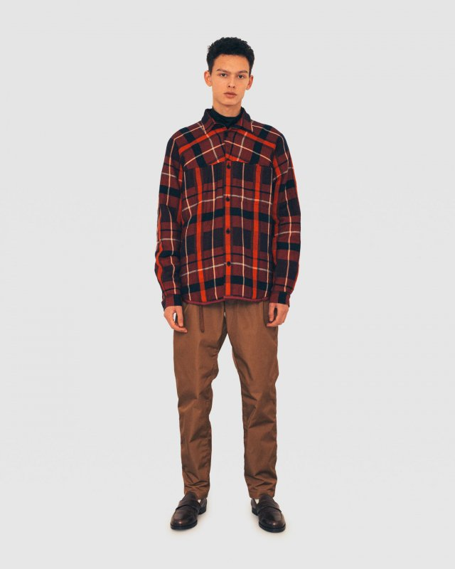 Buffalo Check Padded Overshirt
