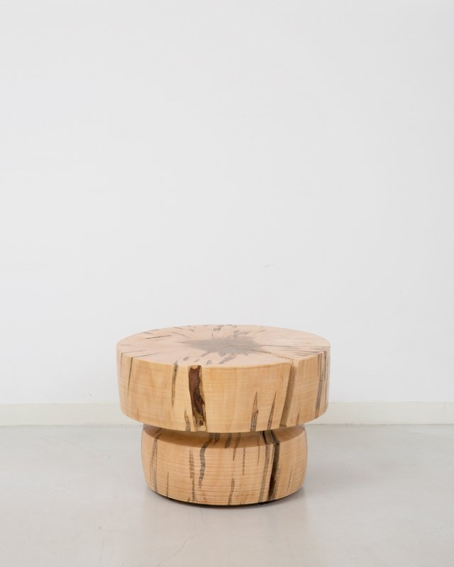 George Peterson  Wooden stool