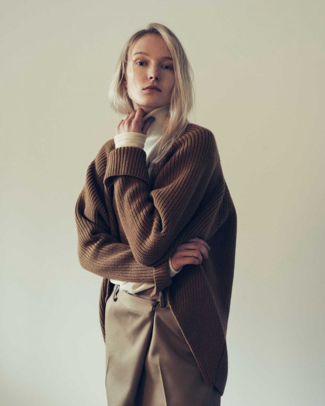 Ridge oversized cardigan