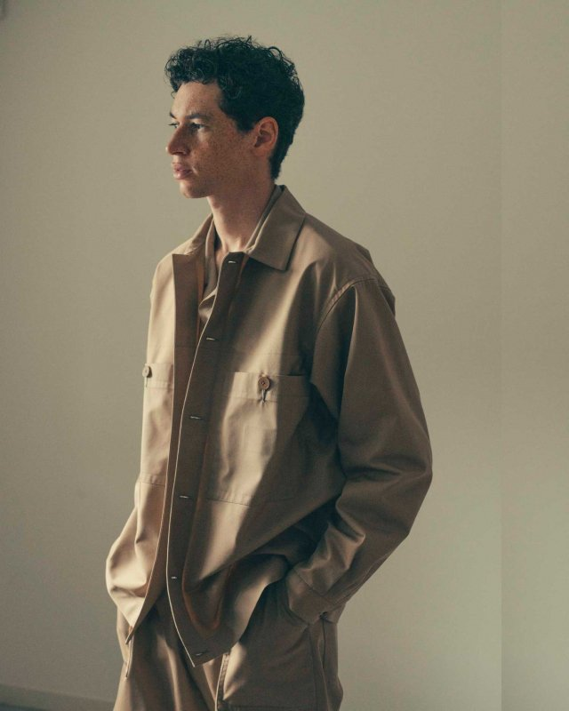 High count chino cloth coverall