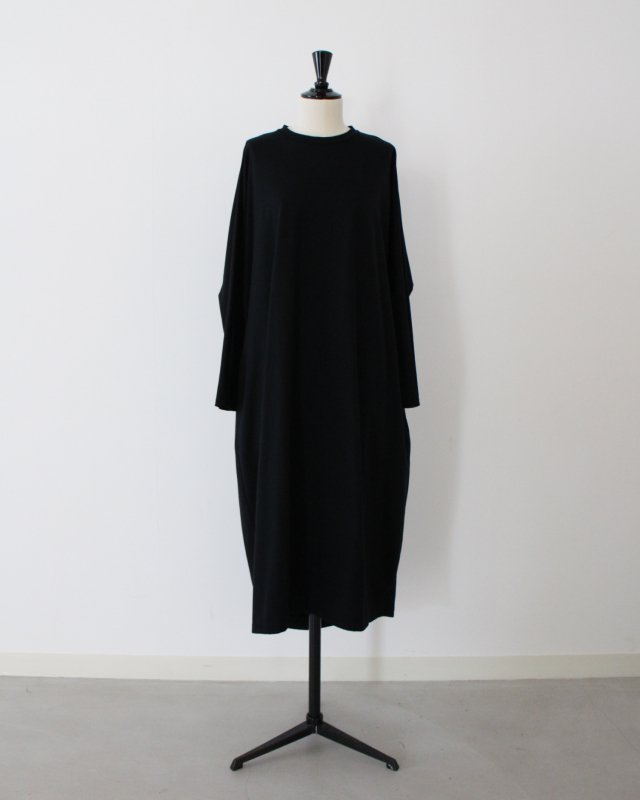 Organic cotton cross jerjey dress