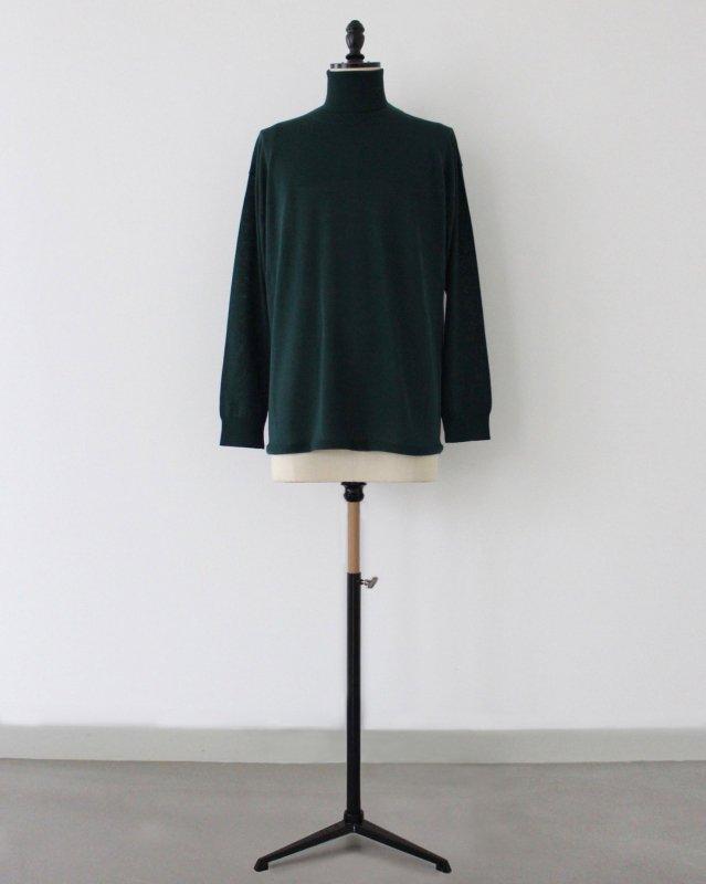 2way neck layered sweater