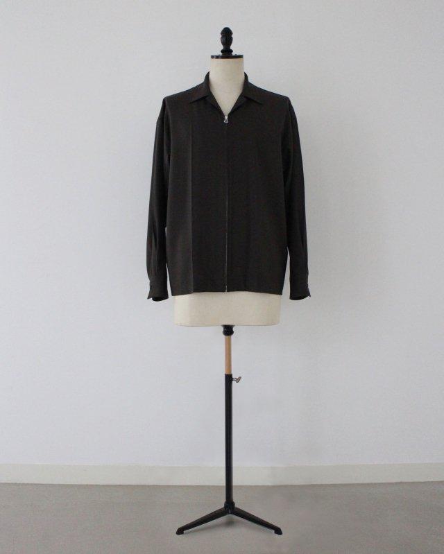 T/R 2way stretch zip shirts