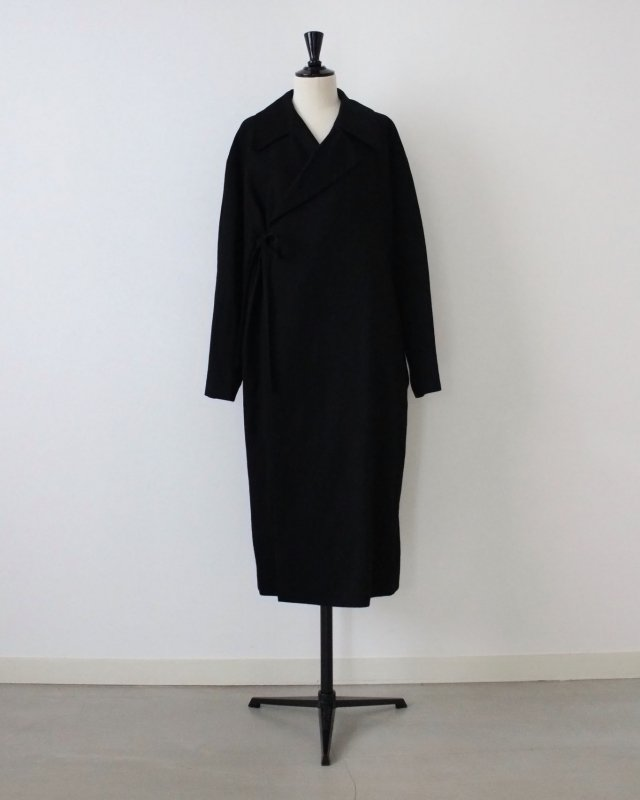Dry wool ramie double coat