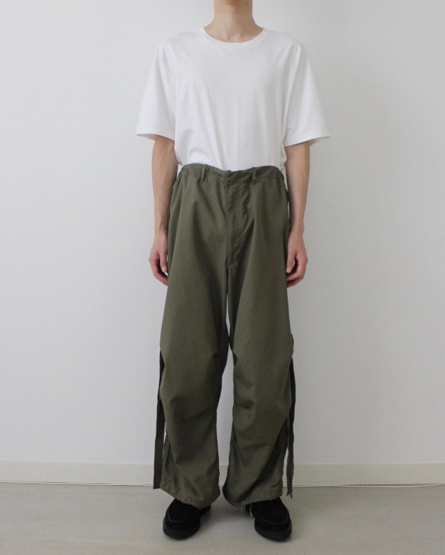 C/N oxford parachute pants