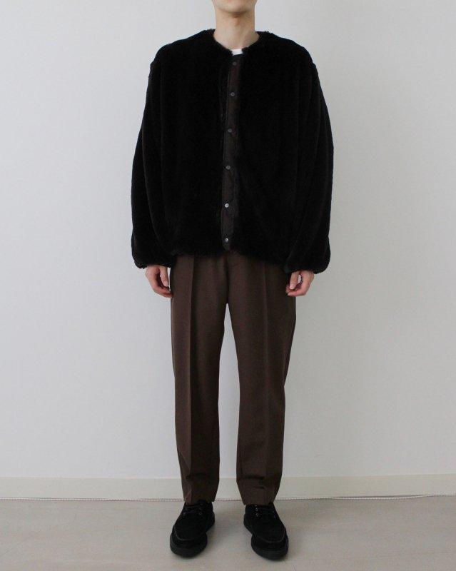 Eco fur liner blouson