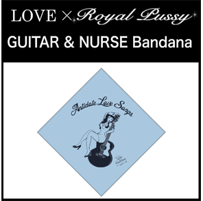 LOVE × Royal Pussy「GUITAR & NURSE Bandana」