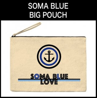 SOMA BLUE BIG POUCH