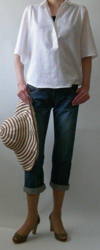 ワイドスリーブサマーシャツ