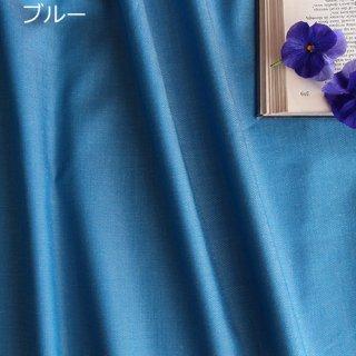 ペルー超長綿タイプライターデニム ブルー