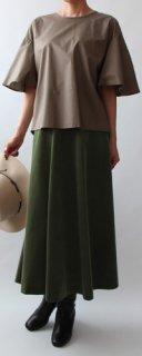 AP膝丈フレアースカート-3
