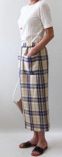 キット ウエストゴムロングタイトスカート-2【764】