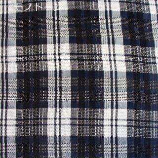 カラミ織タータンチェック全3色