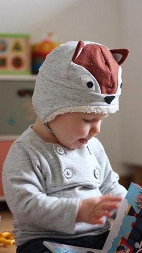 Hugo sweatshirt + hat set - 6ヶ月〜4才