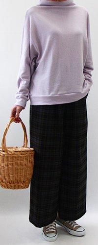 イージーボトルネックセーター【801】