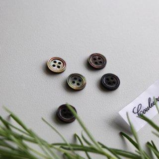黒蝶貝4つ穴ボタン11.5