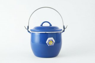 [Rabbit Brand(タイ)]<br>ホーローの小さな鍋 青