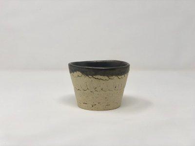 [土の実クラフト]<br>蕎麦猪口 フリーカップ(一部黒柚)