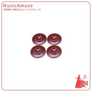 インシュレータープラスチック(UP用)マボガニー IN-UP/M ミュージックカラーショップ(旧ミュージックアミューズ)