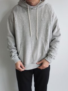 WHITE LINE『WL30/8 LOOPWHEEL DAMAGE HOODED SWEAT』30%OFF<img class='new_mark_img2' src='//img.shop-pro.jp/img/new/icons20.gif' style='border:none;display:inline;margin:0px;padding:0px;width:auto;' />
