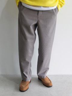 UNIVERSAL PRODUCTS『WATER PROOF WOOL EASY SLACKS』