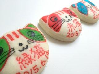 猫型一升餅CAT(小分け3匹)