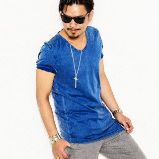 U LONGlength TEE BLUE USED